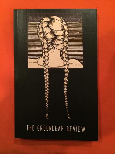 """French Braids"" featured on the cover of Guilford College's annual literary magazine, ""The Greenleaf Review"""